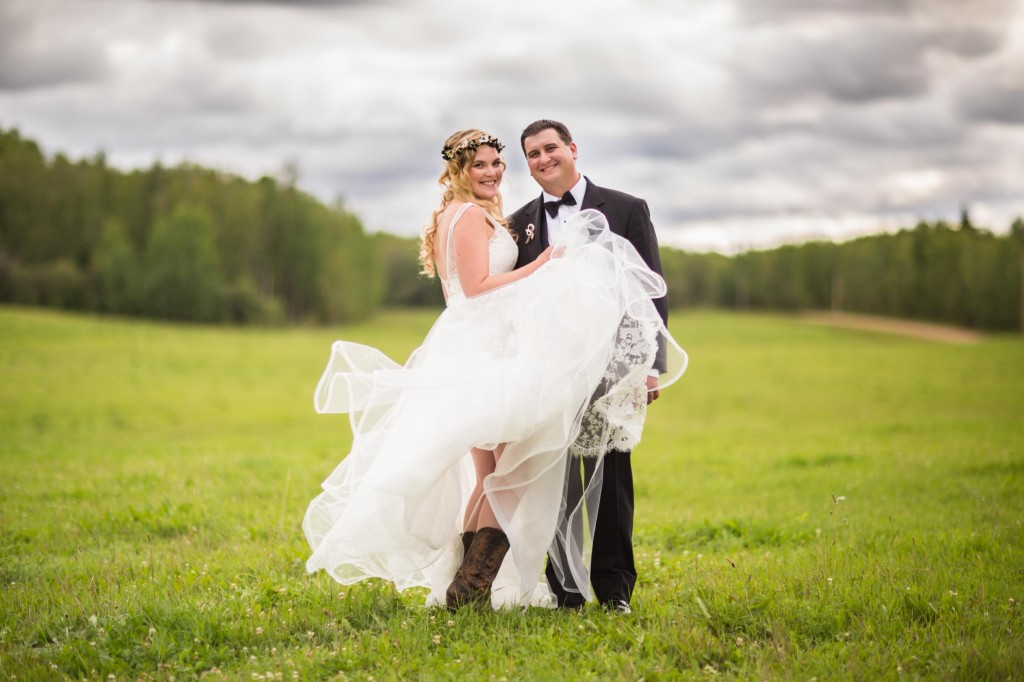 country wedding picture