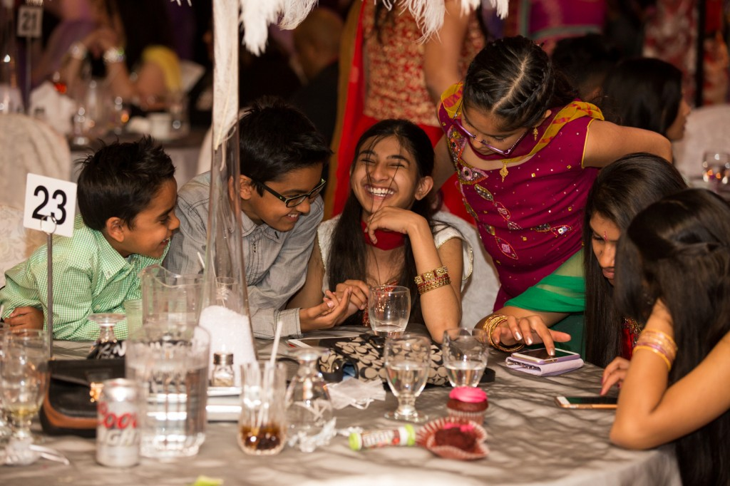 Candid Indian Wedding Reception Photography