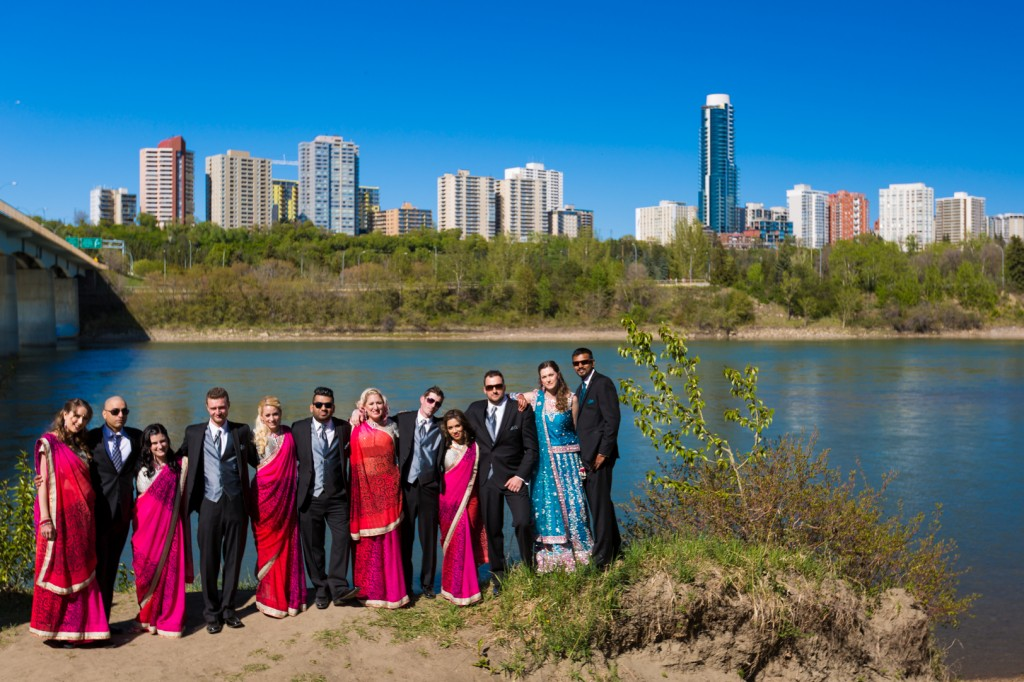 River Valley Wedding Party Photography