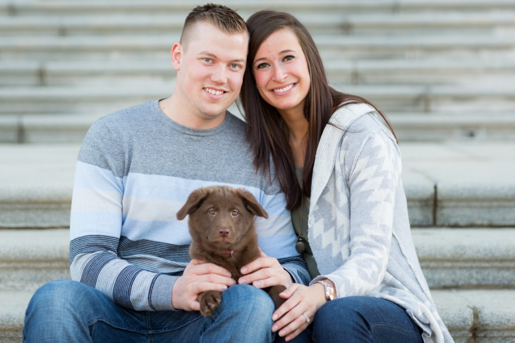 Engagement Pictures With Your Dog Is A Great Idea!
