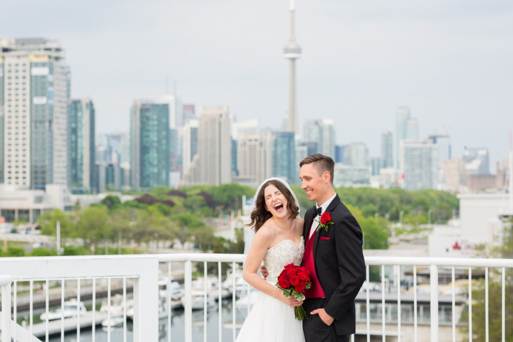 View From The Top Of The Atlantis Pavilion Wedding In Toronto