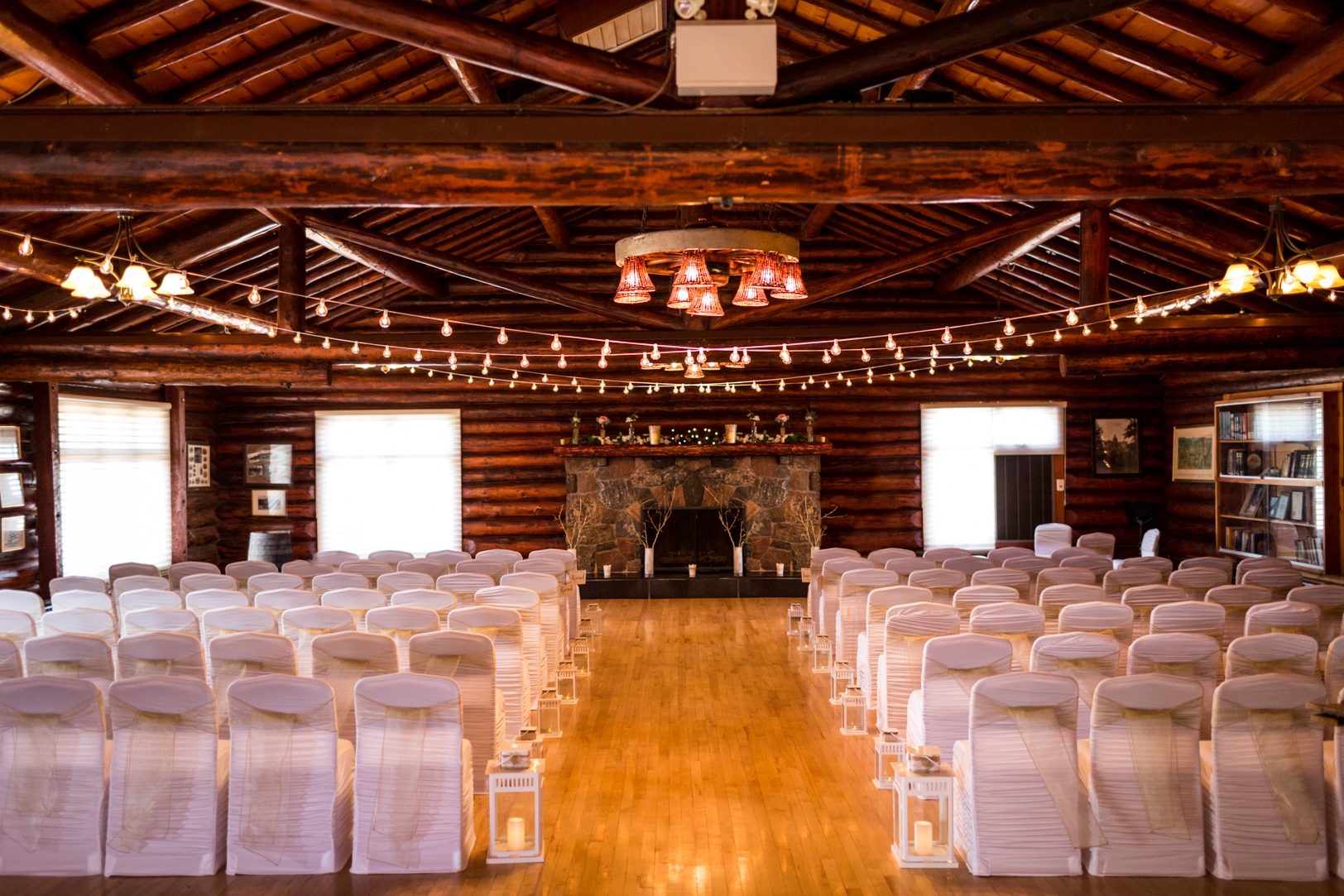 Wedding Ceremony Old Timers Cabin
