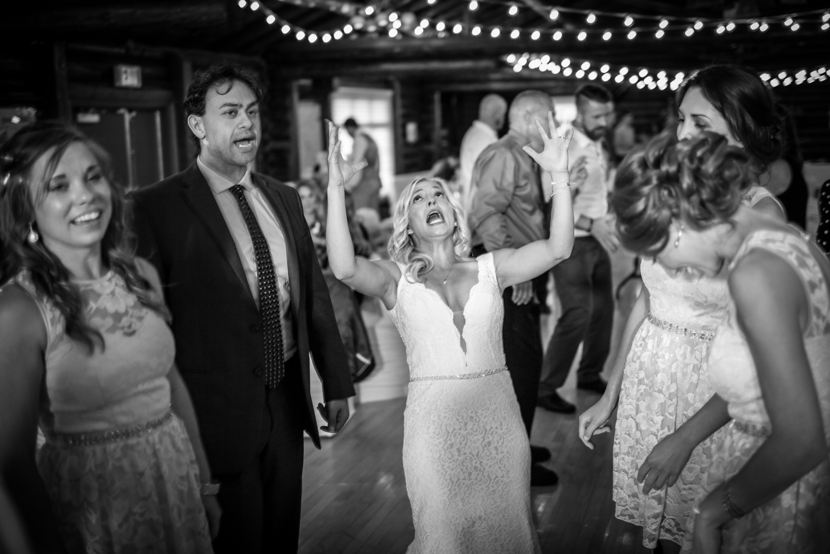 Old Timers Cabin Wedding Dance