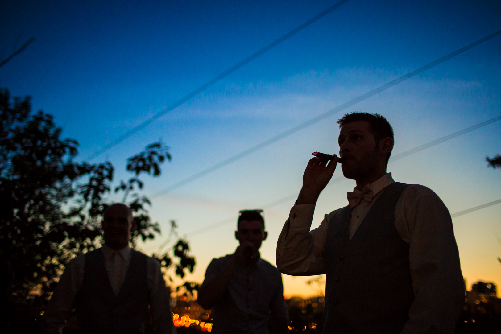 Sunset and Cigars
