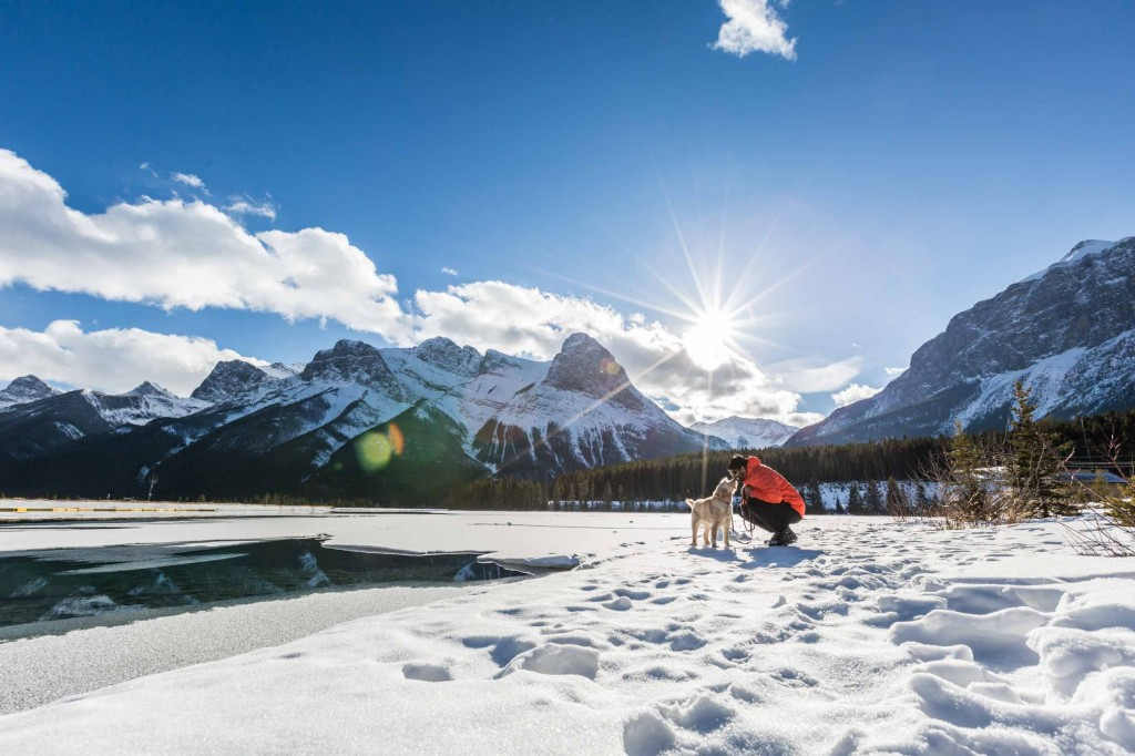 canmore nordic center lake