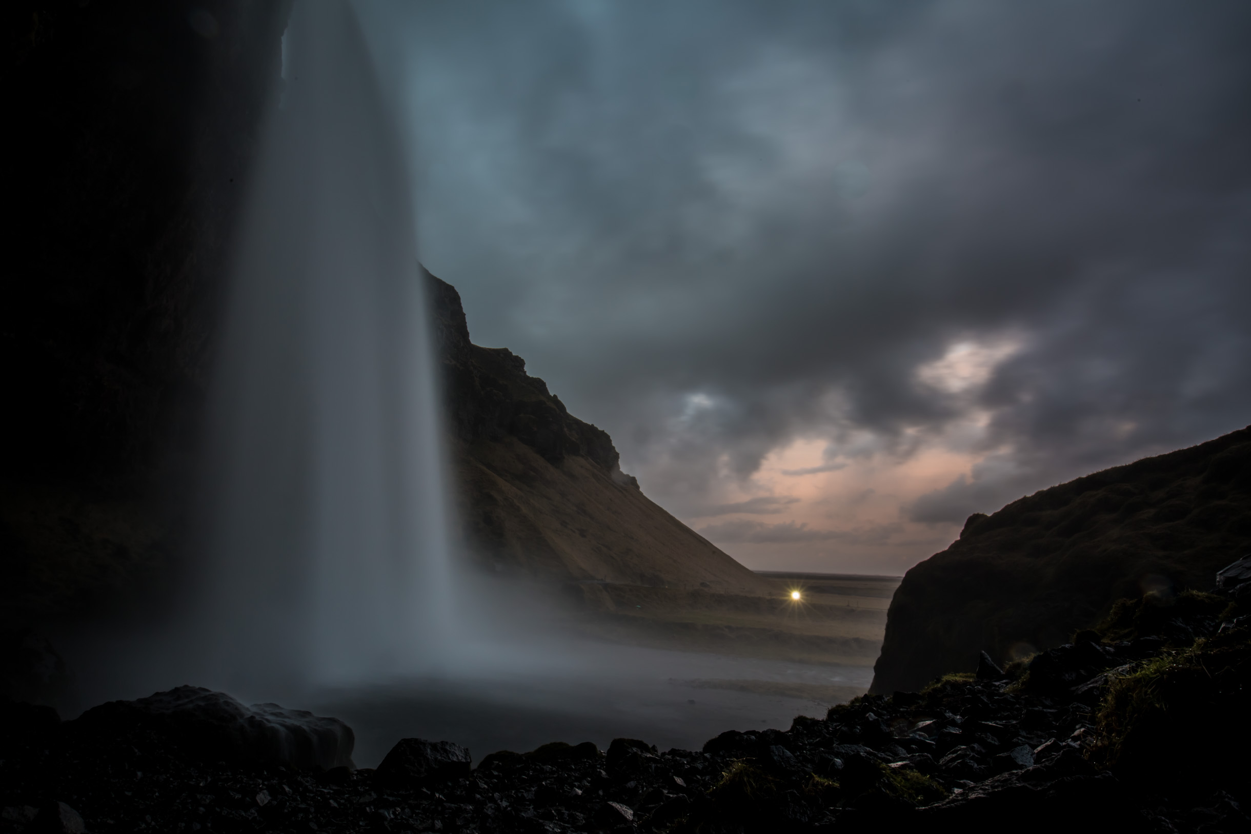 Pictures from exploring the south coast of Iceland - waterfall