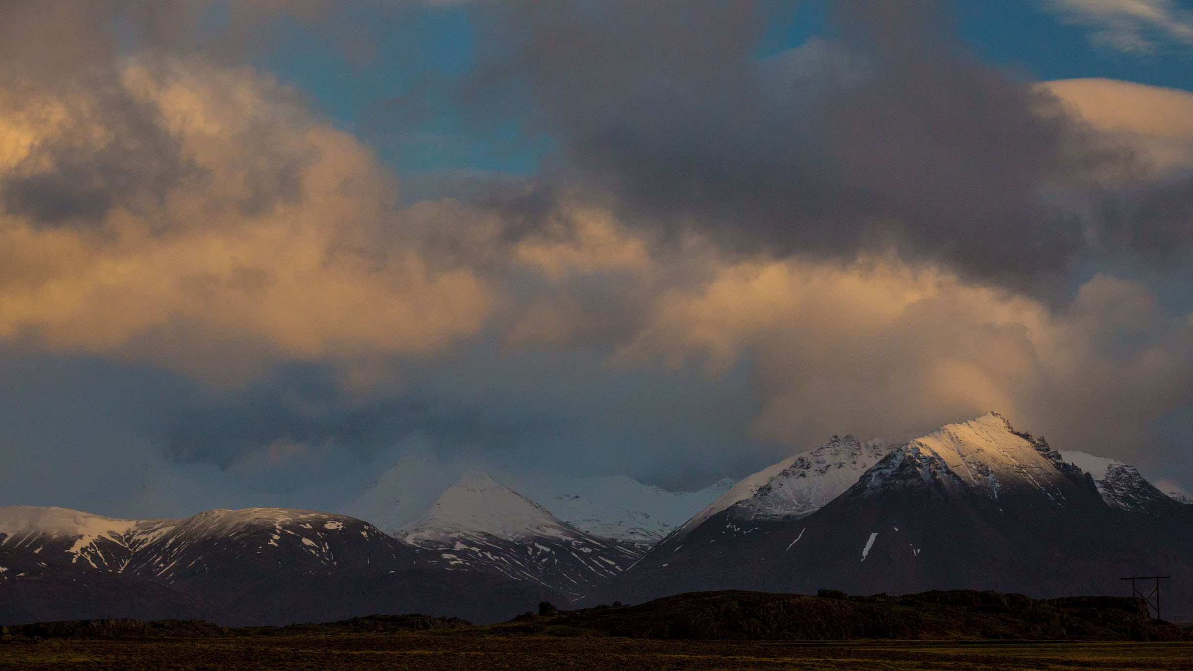 Exploring Eastern Iceland Pano