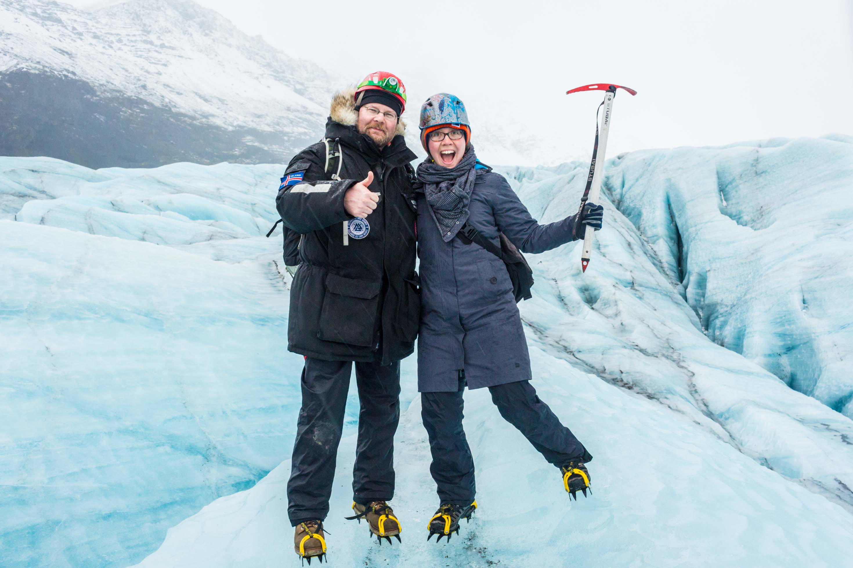 GoEcco Glacier Walk Iceland - Pictures of glaciers in Iceland.