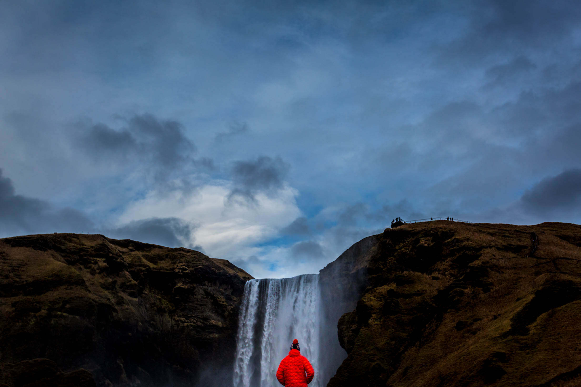 iceland waterfall - what to wear in iceland during winter