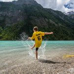backpacking with kids at Kinney Lake on the Berg Lake Trail