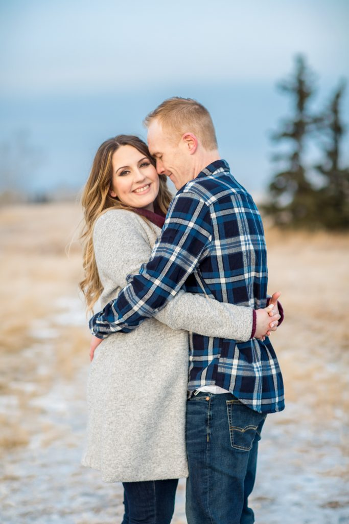 Cute ideas for Strathcona Park Winter Engagement