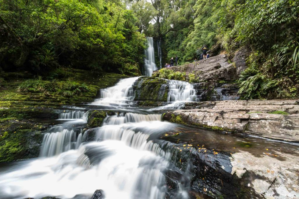 Picture of McLean Falls on the Tautuku River in Catlins Forest Park