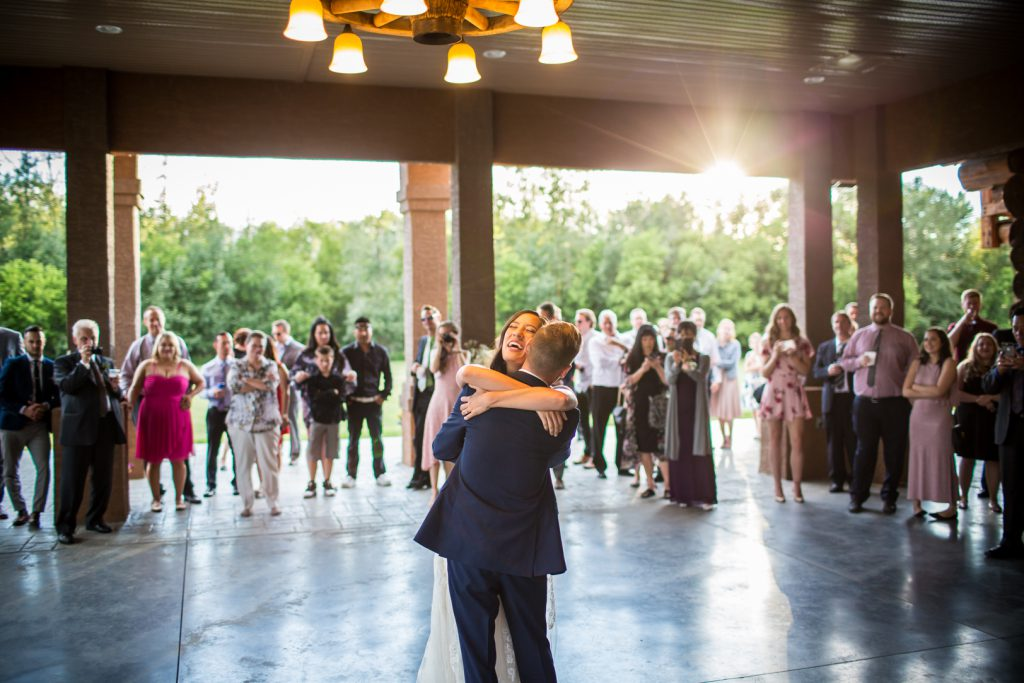 outdoor dance party for wedding