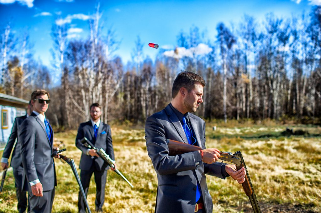 bachelor party idea #6 - hunting