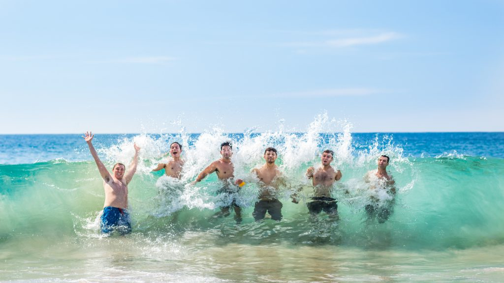 bachelor party ideas head to the beach for fun