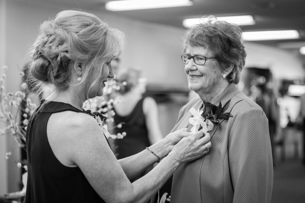 Grandmother of the bride