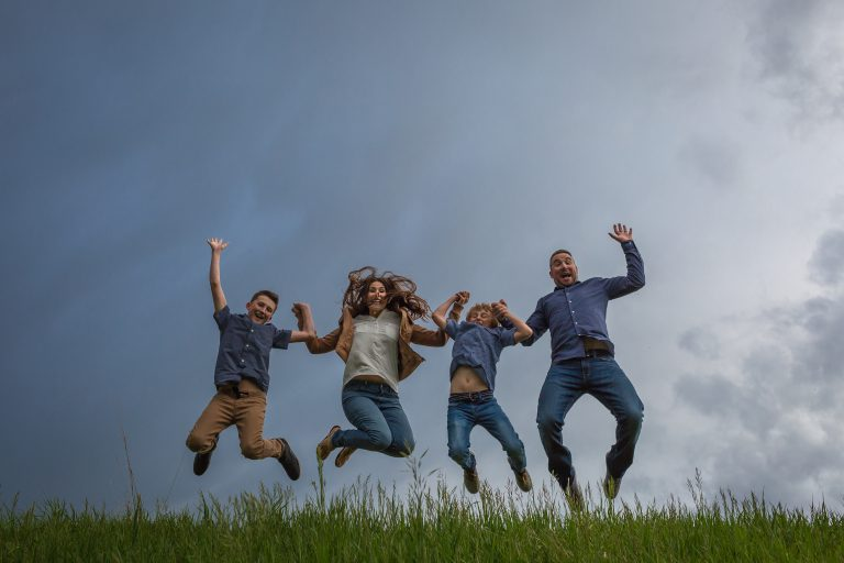 Outdoor Family Portraits – The Braund Family