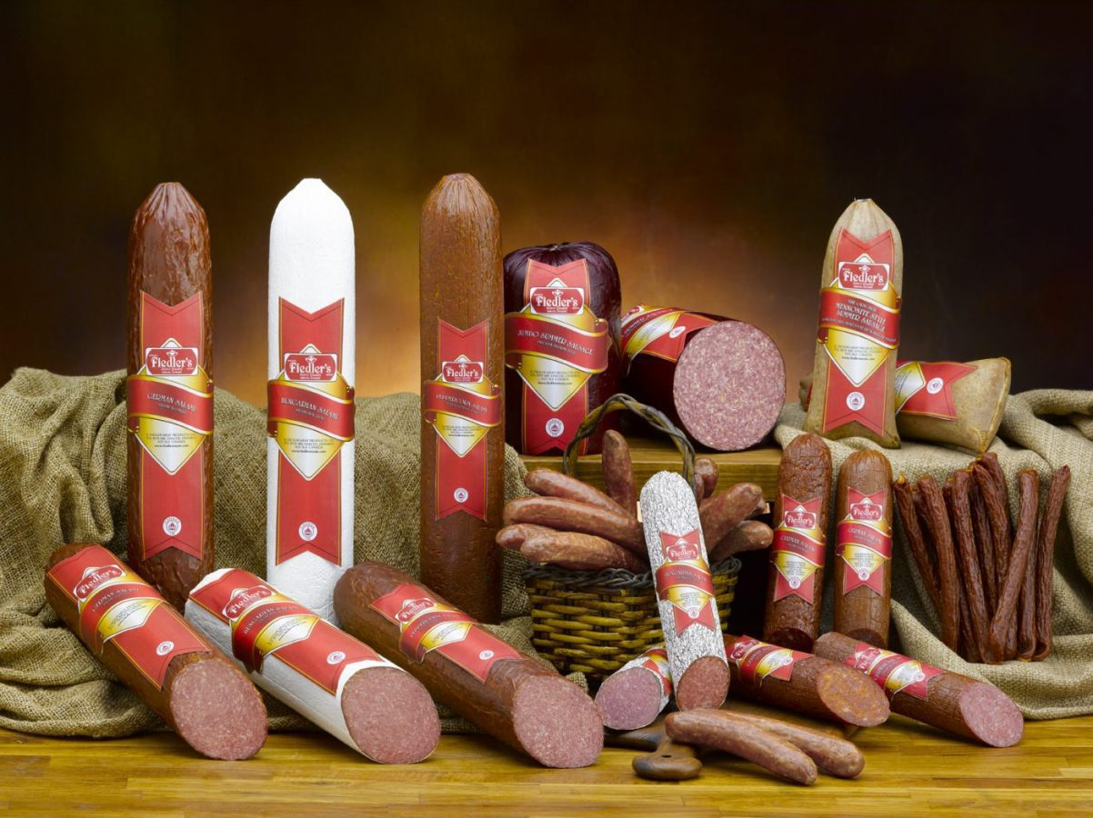 Pork and Beef Salami Products