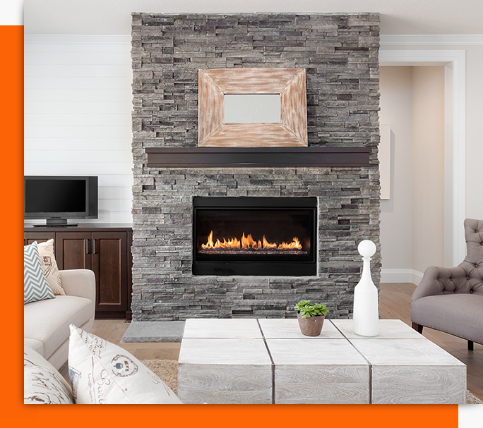 Annual fireplace service and repair